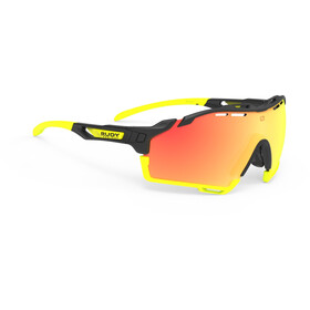 Rudy Project Cutline Lunettes, black matte/multilaser orange